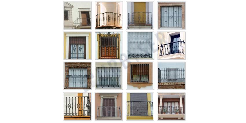 Rejas y Balcones – Modelos